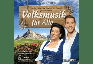 VARIOUS - Lydia Huber Und Benjamin Grund Präs.:Volksmusik Fü  - (CD)