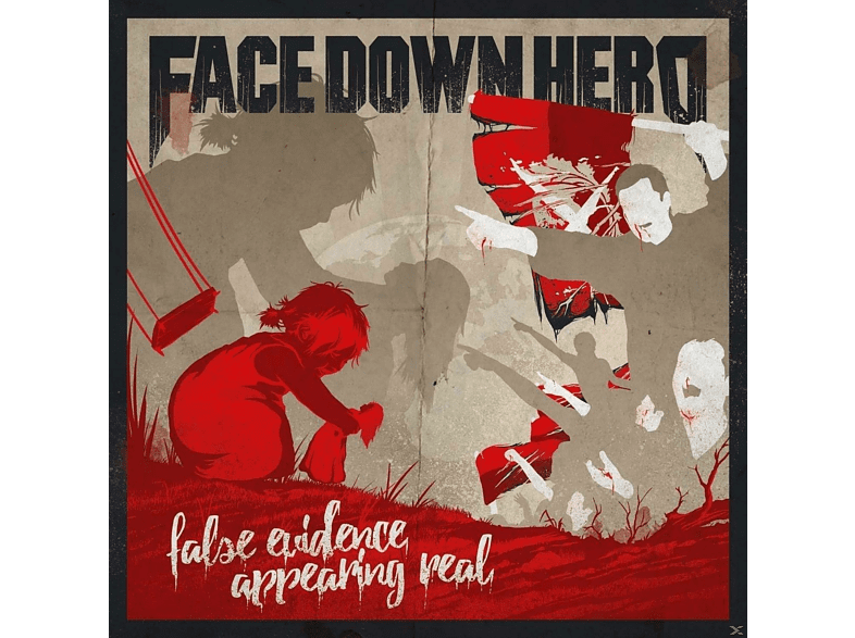 Face Down Hero - False Evidence Appearing Real [Vinyl]