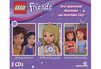 VARIOUS - LEGO Friends Hörspielbox 1  - (CD)