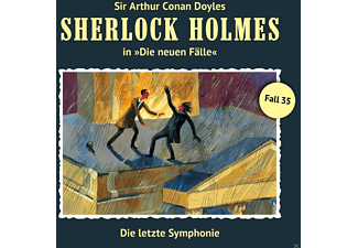 Holmes Sherlock - Sherlock Holmes - Die Letzte Symphonie (Neue Fälle 35)  - (CD)