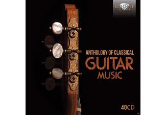 Various Performers - Anthology Of Classical Guitar Music  - (CD)