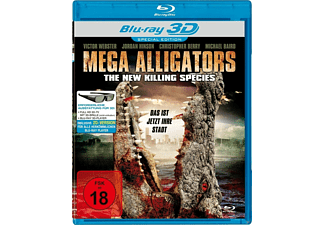 Mega Alligators-The New Killing Species 3D Blu-ray