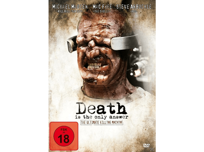 Death Is The Only Answer [DVD]