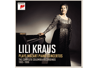 Lili Kraus - Lili Kraus plays Mozart Piano Concertos  - (CD)
