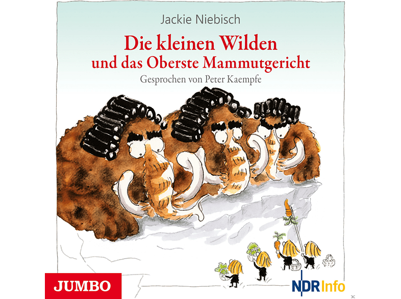 Die kleinen Wilden und das Oberste Mammutgericht - (CD)