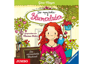 - Der magische Blumenladen 05: Die verzauberte Hochzeit  - (CD)