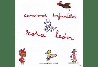 Rosa Léon - Canciones Infantiles  - (CD)