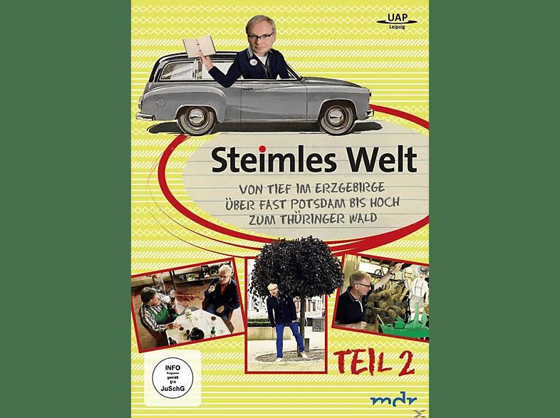 Steimles Welt 2 - Von tief im Erzgebirge über fast Potsdam hoch zum Thüringer Wald [DVD]