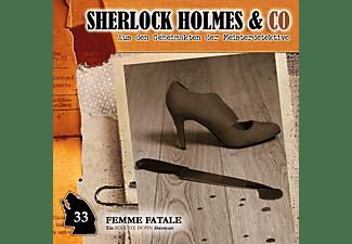 Sherlock Holmes & Co - Femme Fatale-Folge 33  - (CD)