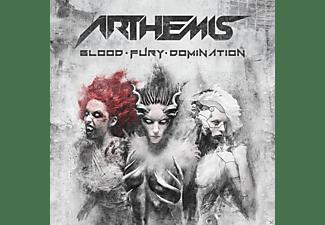 Arthemis - Blood-Fury-Domination  - (CD)