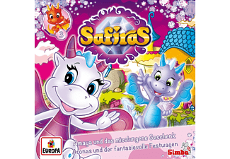 Safiras - 003/Amaya und das misslungene Geschenk/Aronas un  - (CD)