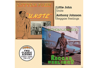 Little John, Anthony Johnson - Unite+Reggae Feelings  - (CD)