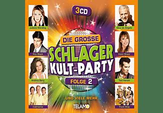 VARIOUS - Die große Schlager Kult-Party,Folge 2  - (CD)