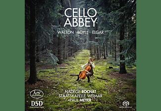 Nadege Rochat, Staatskapelle Weimar - Cello Abbey-Werke für Cello und Orchester  - (SACD Hybrid)