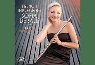 Sofia De Salis, Elina Kachalova - French Impressions-Werke für Flöte und Klavier  - (CD)