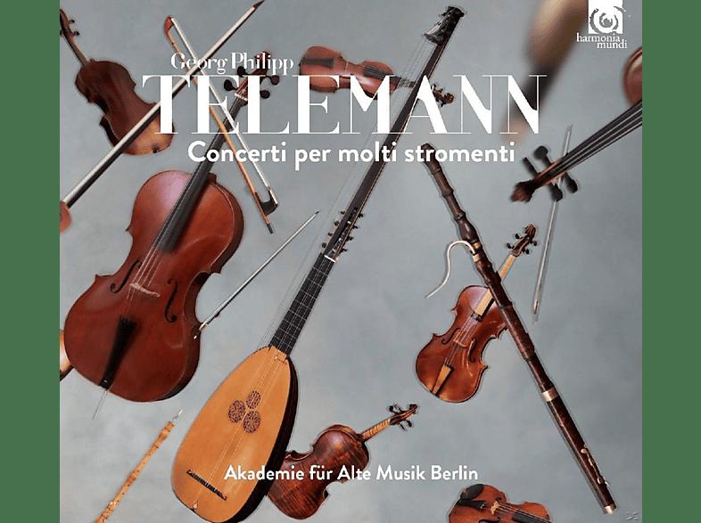 Akademie Für Alte Musik Berlin - Concerti Per Molti Stromenti [CD]