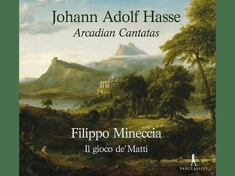 Francesco Corti, Giulio Quirici, Federico Toffano, Giulia Barbini, Filippo Mineccia - Arcadian Cantatas [CD]