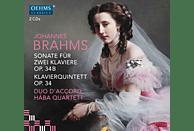 Haba Quatrett, Duo D'accord - Sonate für 2 Klaviere/Klavierquintett [CD]