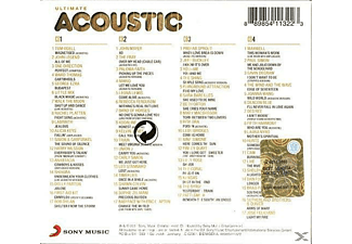 VARIOUS - Ultimate...Acoustic  - (CD)