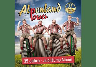 Alpenland Power - 35 Jahre  - (CD)