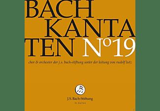 J.S.Bach-Stiftung - Kantaten No°19  - (CD)