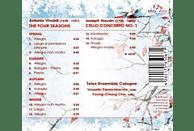 Vesselin Paraschkevov, Telos Ensemble Cologne, Young-chang Cho - Vier Jahreszeiten/Cellokonzert 1 [CD]