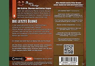 Möckel,Ulrike/Tennstedt,Joachim/Bahro,Wolfgang/+++ - Morgan & Bailey 08: Die letzte Ölung  - (CD)