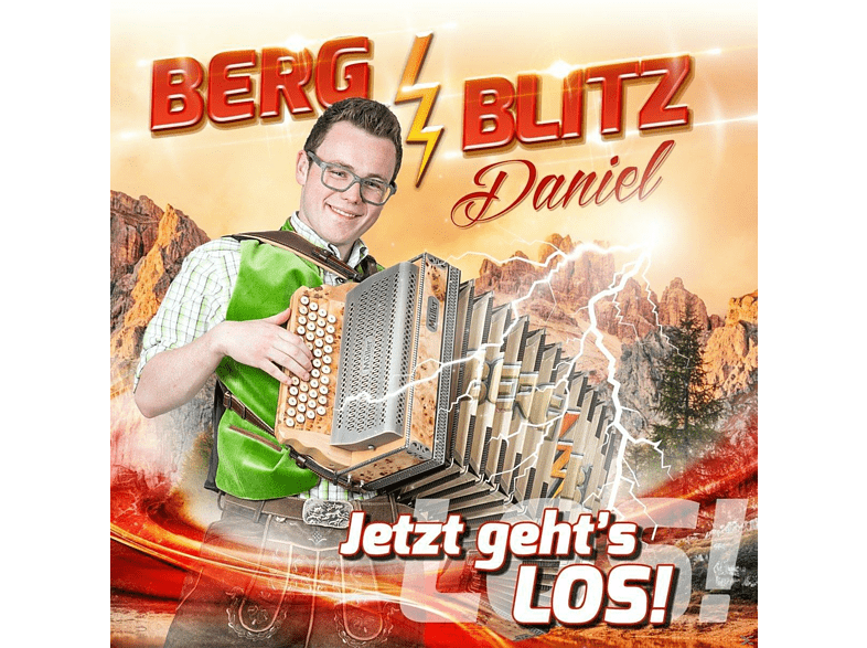 Bergblitz Daniel - Jetzt geht's los! [CD]