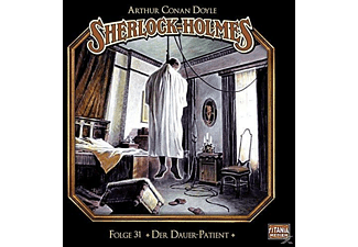Sherlock Holmes-folge 31 - 031 - DER DAUER-PATIENT  - (CD)