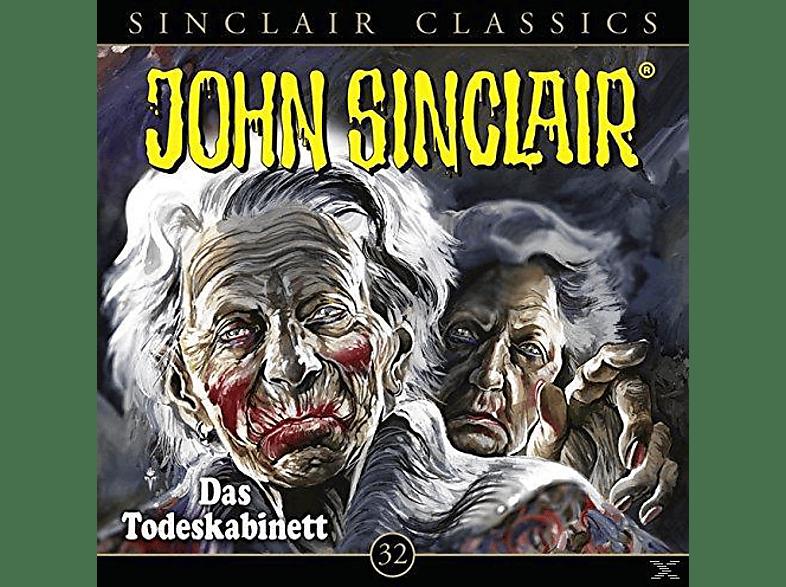 John Sinclair Classics-folge 32 - 032 - DAS TODESKABINETT - (CD)