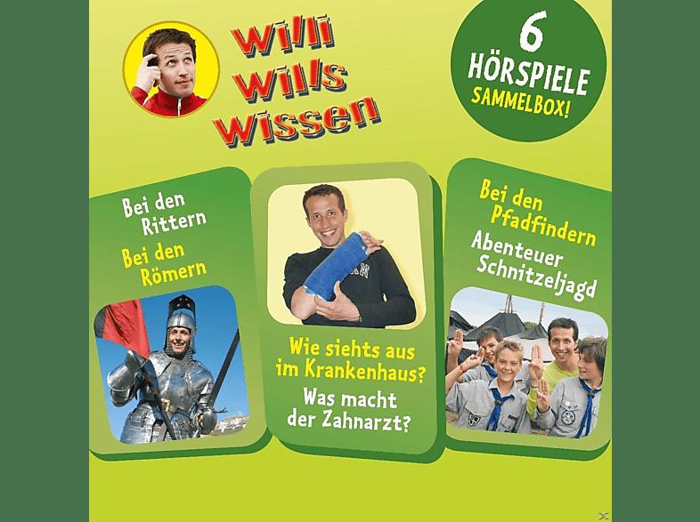 Willi Wills Wissen - 003 - SAMMELBOX MIT 6 HÖRSPIELEN - (CD)