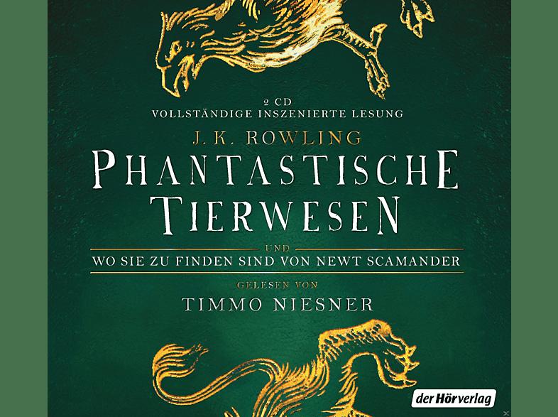 Timmo Niesner - Phantastische Tierwesen und wo sie zu finden sind - (CD)