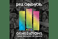 VARIOUS - GENERATIONS - THREE DECADES OF DANCE [CD]