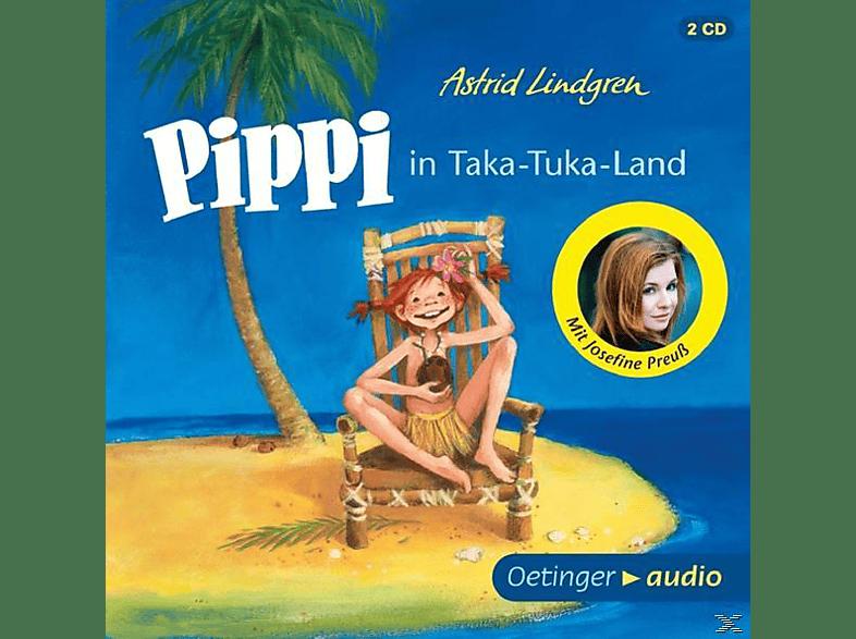 Astrid Lindgren - Pippi in Taka-Tuka-Land - (CD)
