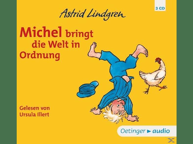 Astrid Lindgren - Michel bringt die Welt in Ordnung - (CD)