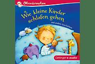 zur Brügge,Anne-Kristin ,  Schmidt,Hans-Christia - Ohrwürmchen - Wie kleine Kinder schlafen gehen und andere Geschichten - (CD)