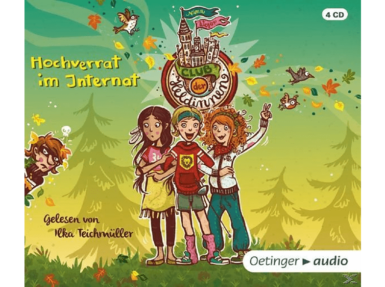 Nina Weger - Der Club der Heldinnen.Hochverrat im Internat - (CD)