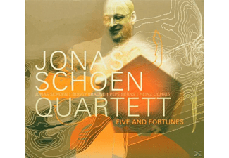 Jonas Schoen - Five And Fortunes,Quartet V 3  - (CD)