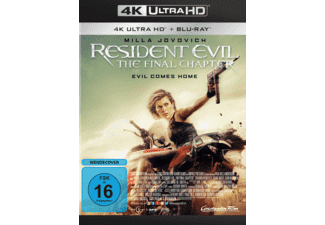 Resident Evil: The Final Chapter - (4K Ultra HD Blu-ray + Blu-ray)