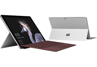 MICROSOFT Surface Pro, Convertible mit 12,3 Zoll Display, Core™ i5 Prozessor, 8 GB RAM, 128 GB SSD, Intel® HD-Grafik 620, Silber