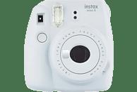 FUJIFILM Instax Mini 9 Sofortbildkamera, Smoky White