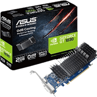 ASUS GeForce® GT 1030 2GB passiv (90YV0AT0-M0NA00) (NVIDIA, Grafikkarte)