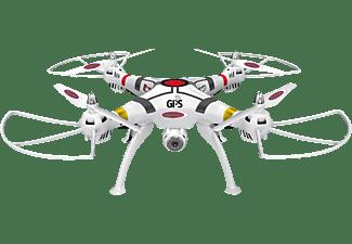 JAMARA Payload GPS Altitude HD Wifi FPV Quadrocopter Weiß