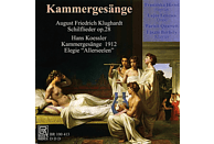 Franziska Hirzel, Lajos Lencsés, Parisii-Quartett, Lászl Borbély - Kammergesänge [CD]