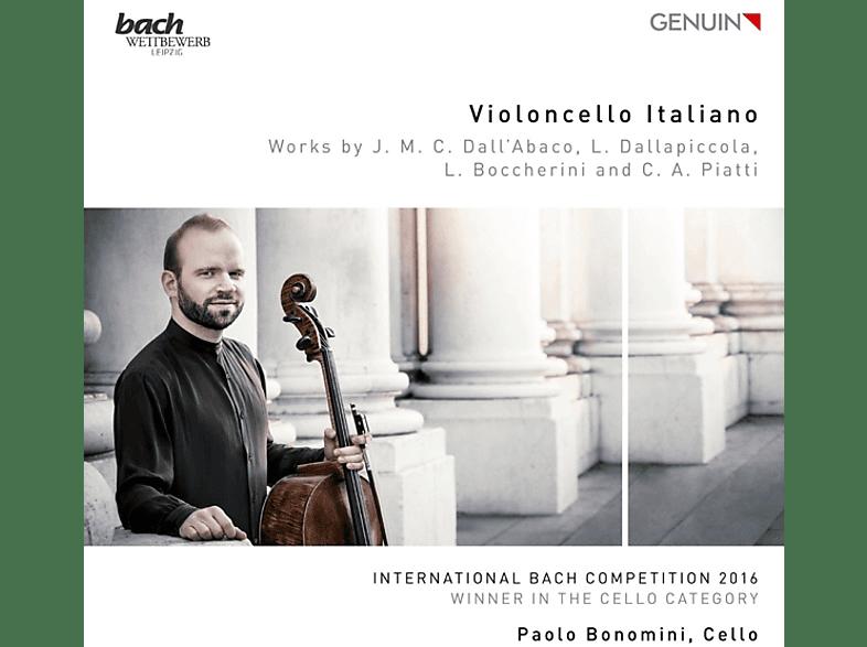 Paolo Bonomini, Magdalena Bojanowicz, Naoko Sonoda - Violoncello Italiano [CD]