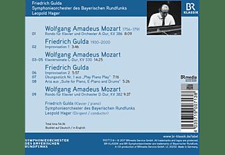 Symphonieorchester Des Bayerischen Rundfunks - Gulda Plays Mozart & Gulda  - (CD)