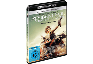 Resident Evil: The Final Chapter 4K Ultra HD Blu-ray + Blu-ray