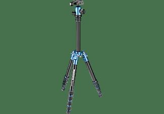 MANFROTTO MKELES5 Element Dreibein Stativ Stativ, Blau/Schwarz, Höhe offen bis 1340 mm