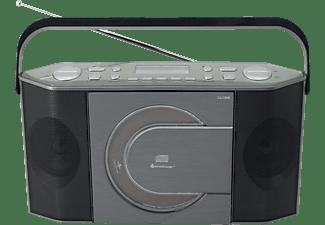 SOUNDMASTER RCD1770AN DAB+ Radio, Schwarz/Silber
