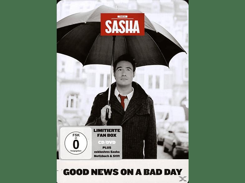 Sasha - Good News On A Bad Day(Ltd. Metal Box) [CD + DVD Video]